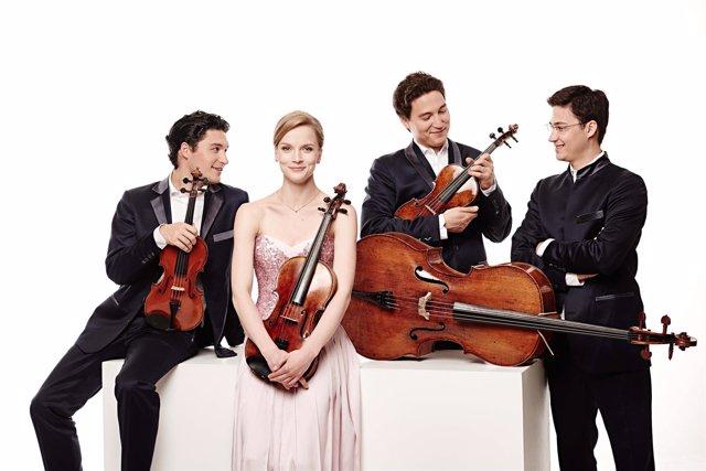 Salamanca. El Schumann Quartet en el Teatro Liceo