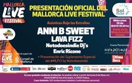 Annie B Sweet actuará este miércoles en la presentación del Mallorca Live Festival