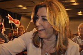 """Susana Díaz no se resigna ni a """"90 ni 85 escaños"""", sino que quiere ganar en España"""