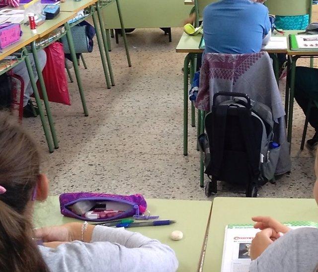Escolares en Getafe