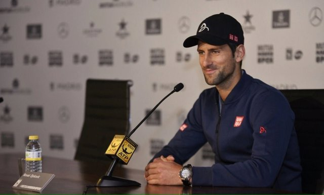 Novak Djokovic Mutua Madrid Open