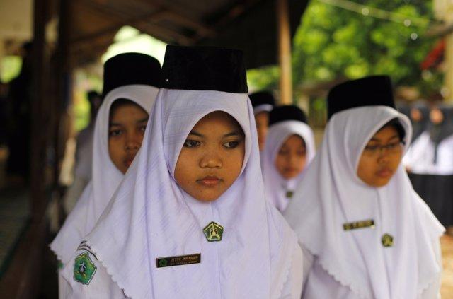 Clérigas en Indonesia