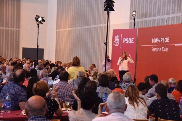Susana Díaz en Huesca