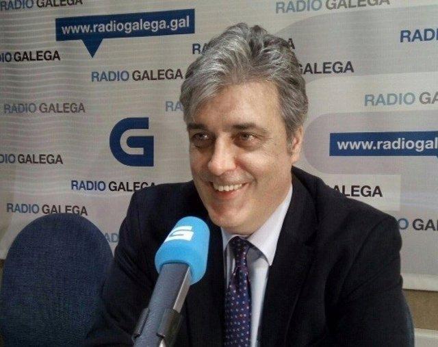 Pedro Puy en Radio Galega