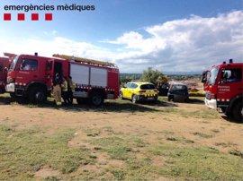 Hospitalizados los heridos en la explosión de un hinchable en Caldes de Malavella (Girona)