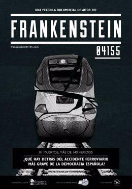 Poster de 'Frankenstein-04155', sobre el accidente del Alvia en Angrois
