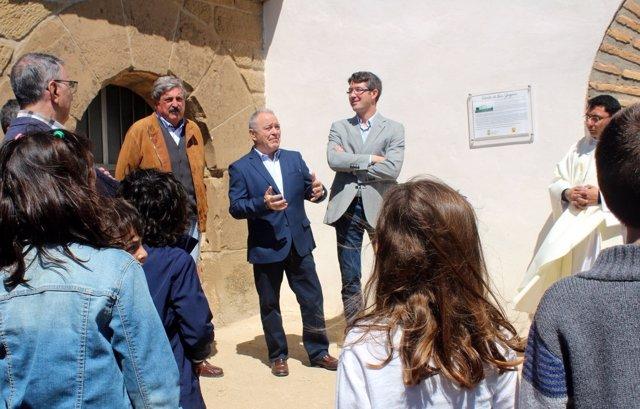 Inauguración de la restauración de la ermita de San Gregorio en Vicién.