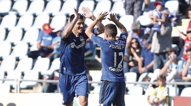 El Getafe se afianza en la tercera plaza y el Tenerife derrota al Lugo