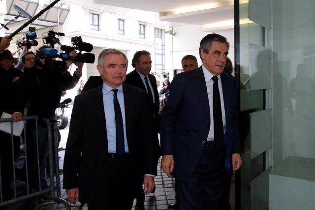 Francois Fillon y Bernard Accoyer