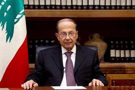 Aoun dice que podría disolver el Parlamento de Líbano si no hay un acuerdo sobre la ley electoral antes del 20 de junio