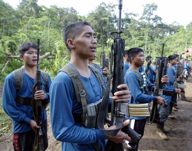 Guerrilla maoista en Filipinas