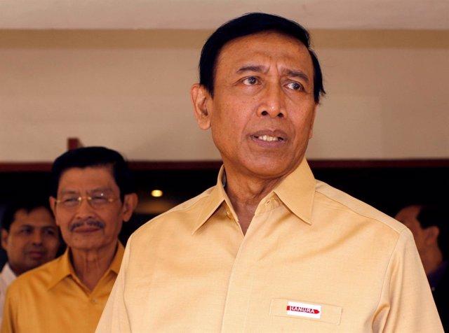 El ministro de Seguridad de Indonesia, Wiranto.