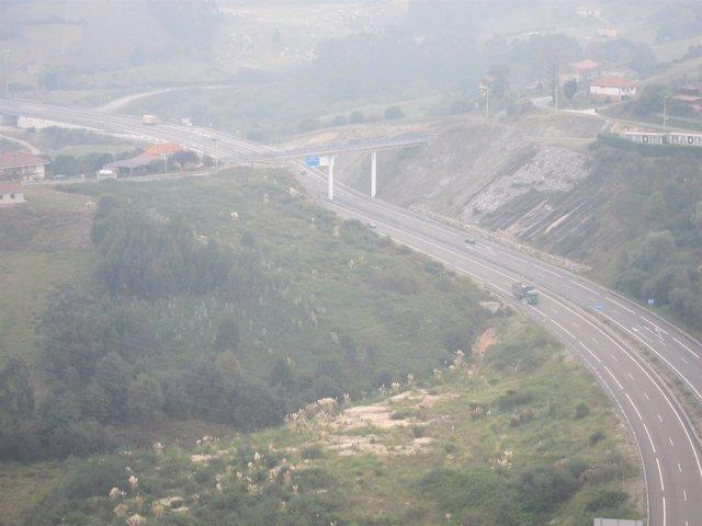Carreteras A-66 Asturias