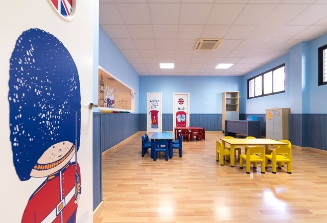 Instalaciones de la escuela infantil bilingüe 'Micos Miy First School'.