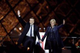 Macron gana las presidenciales con el 66,1 por ciento de los votos, con el 100 por cien escrutado