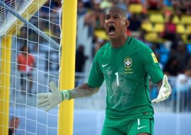 Brasil, campeona del mundo de fútbol playa