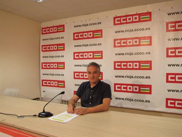 El Secretario General De CCOO, Jorge Ruano