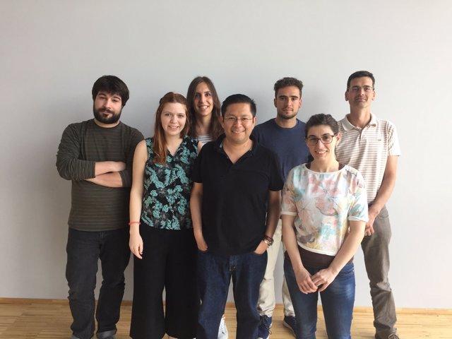 Grupo de investigación de la USC encabezado por Rubén Nogueiras.