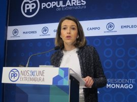 """El PP dice que de la precandidatura a la secretaria del PSOE extremeño de Eva Pérez es una """"moción de censura"""" a Vara"""