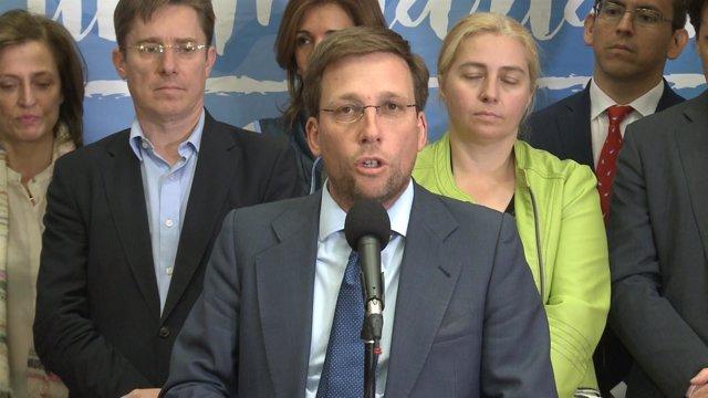 """Martínez-Almeida dice que Aguirre seguirá siendo """"un referente"""""""