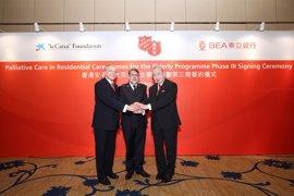 La Fundación 'La Caixa' impulsará en China su Programa de Atención Integral a Personas con Enfermedades Avanzadas