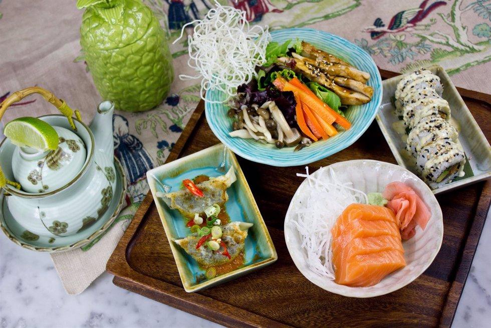 Healthy Set Lunch por Sushita Café