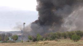 CCOO alerta a la Inspección de Trabajo sobre posible presencia de amianto en la zona del incendio de Arganda
