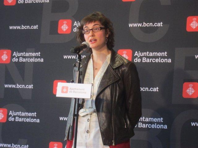 La presidenta de TMB, Mercedes Vidal