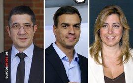 Los candidatos a liderar el PSOE debatirán el 15 de mayo en Ferraz