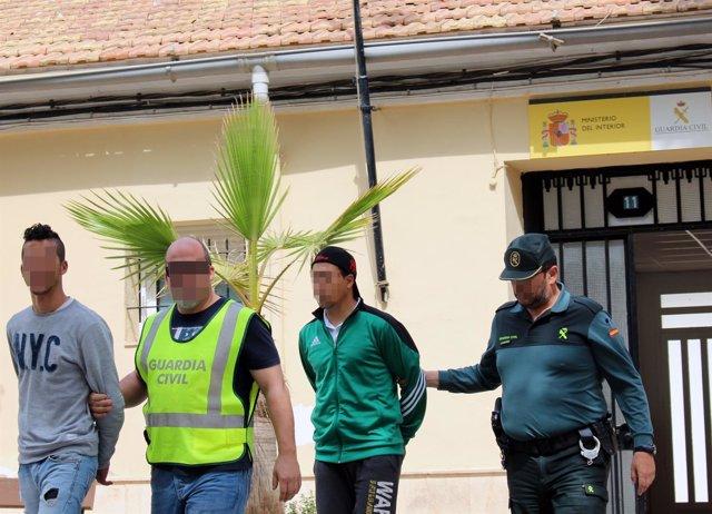 La Guardia Civil Desmantela Un Grupo Delictivo Dedicado A Asaltar Las Instalacio