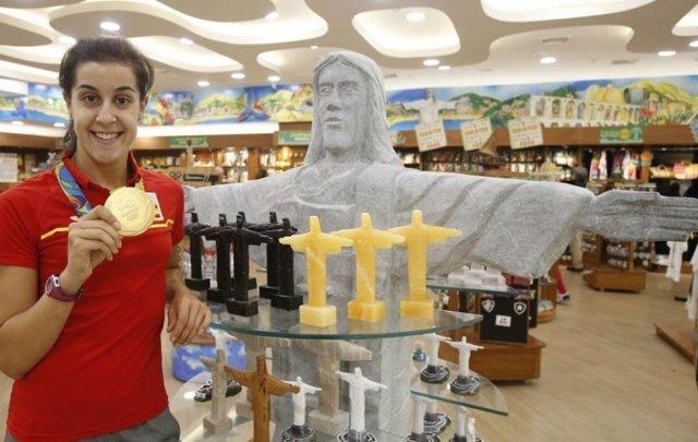 Carolina Marín vuelve de Río