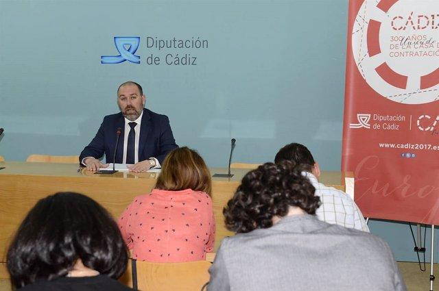 Jesús Solís, responsable de Economía de la Diputación de Cádiz