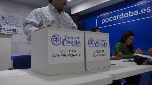 Elecciones para el Congreso del PP de Córdoba