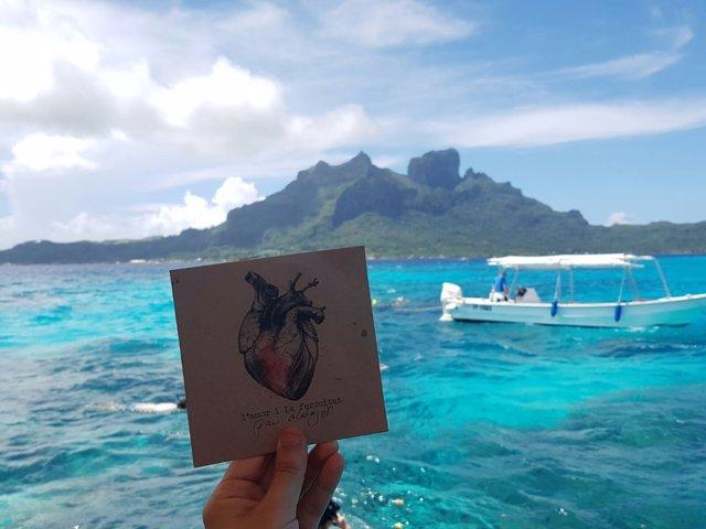 El 'cdcrossing' de Pau Alabajos en Bora Bora