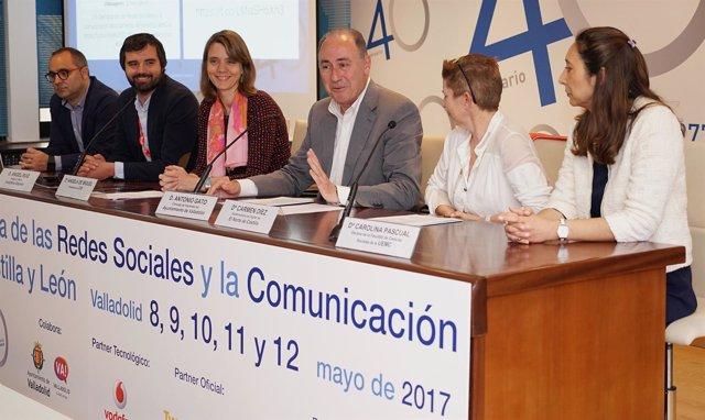 Inauguración de la Semana de las Redes Sociales y la Comunicación