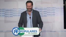 """Adolfo Molina confía en que entre todos """"se preserve la unidad y la fortaleza"""" del PP de Córdoba"""