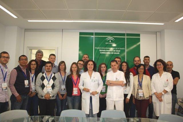 Hospital curso avances protección de equipos de radiología clínico victoria