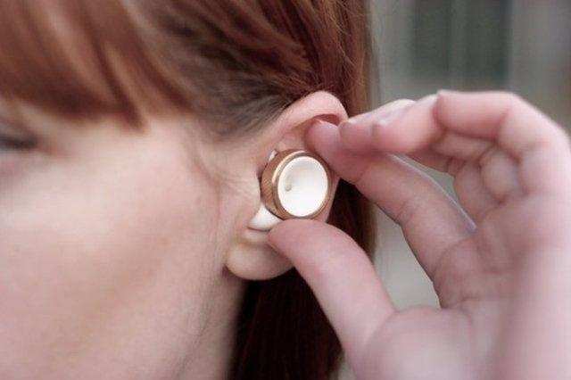 Tapones oído auriculares sonido ruido