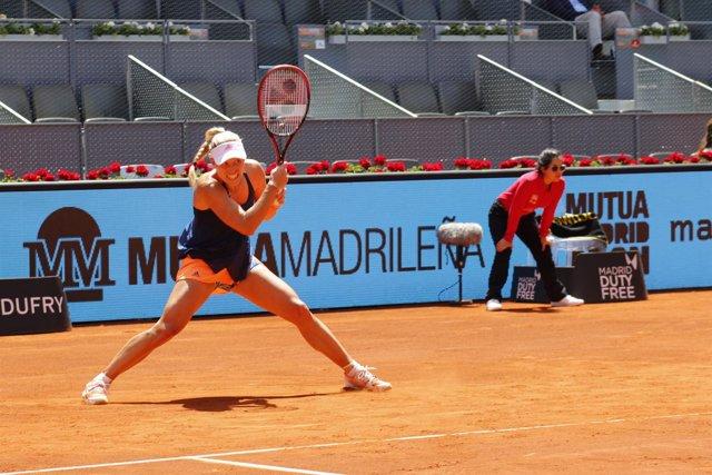 Angelique Kerber en Madrid