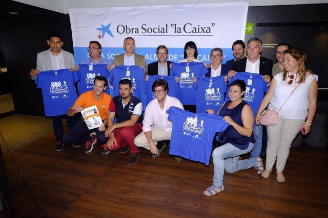 El Ayuntam,Iento De Málaga Informa: La Xi Caminata Solidaria Recaudará Fondos Pa