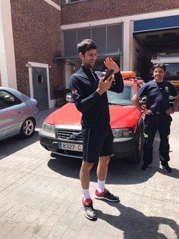 Djokovic visita el Parque 2