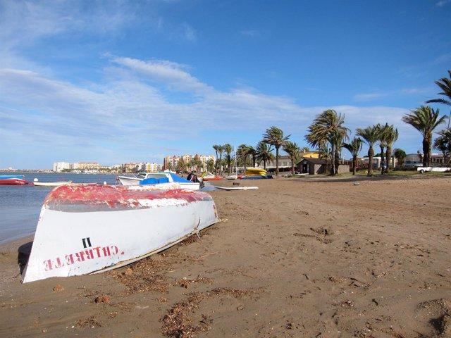 Playa De La Manga Del Mar Menor