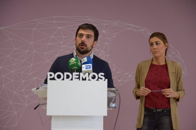 Ramón Espinar y Lorena Ruiz-Huerta