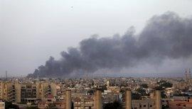 Doce muertos en combates en Benghazi, Libia