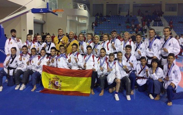 Taekwondo Poomsae y Freestyle