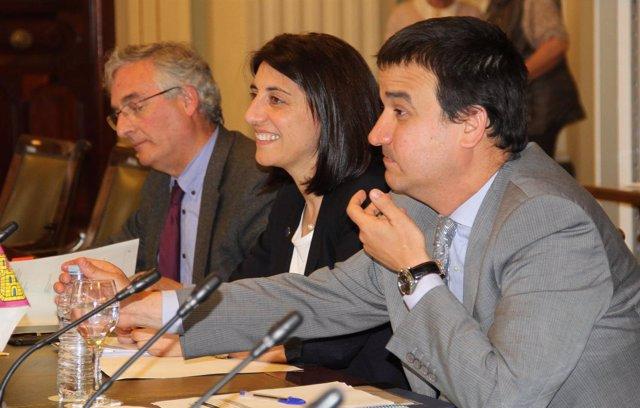 Angeles Vázquez en el Consejo Consultivo de Madrid