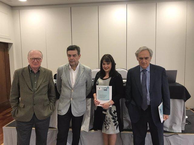 Presentación del informe económico y social de Cantabria a primavera de 2017