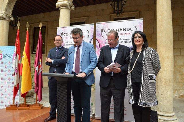 Restaurantes De León Y Valladolid Intercambian Productos En 'Cocinando Con Lo Nu