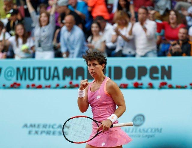 Carla Suárez Mutua Madrid Open 2017
