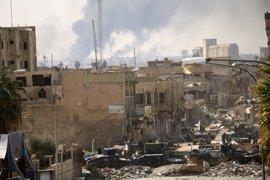 Irak anuncia nuevos avances de sus fuerzas frente a Estado Islámico en el noroeste de Mosul